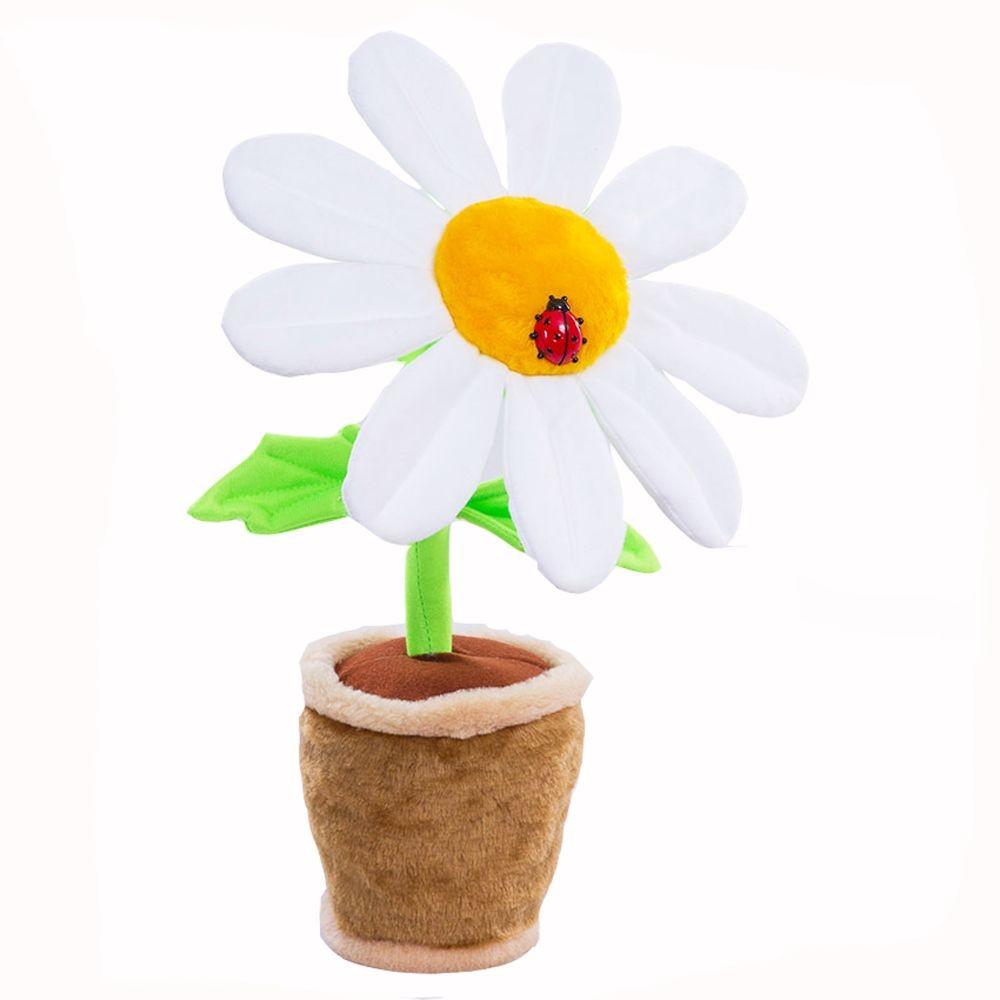 Сувенирный цветок в горшке