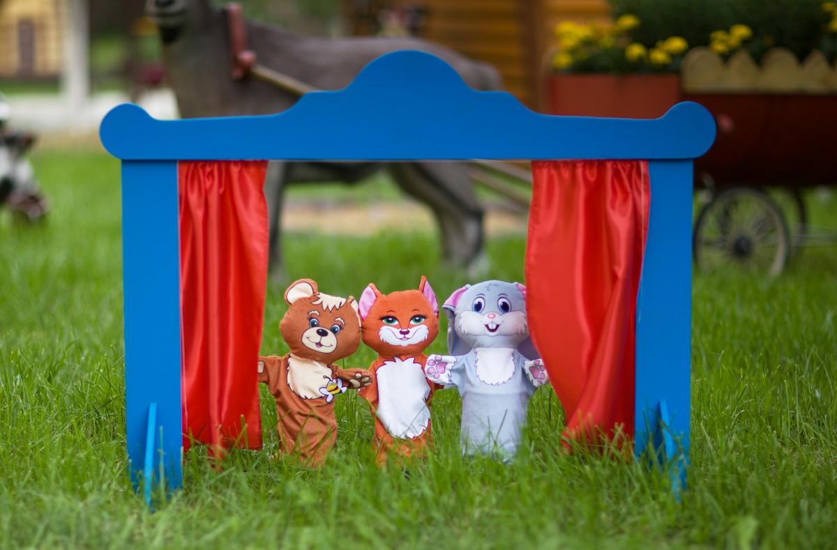 Купить домашний кукольный театр