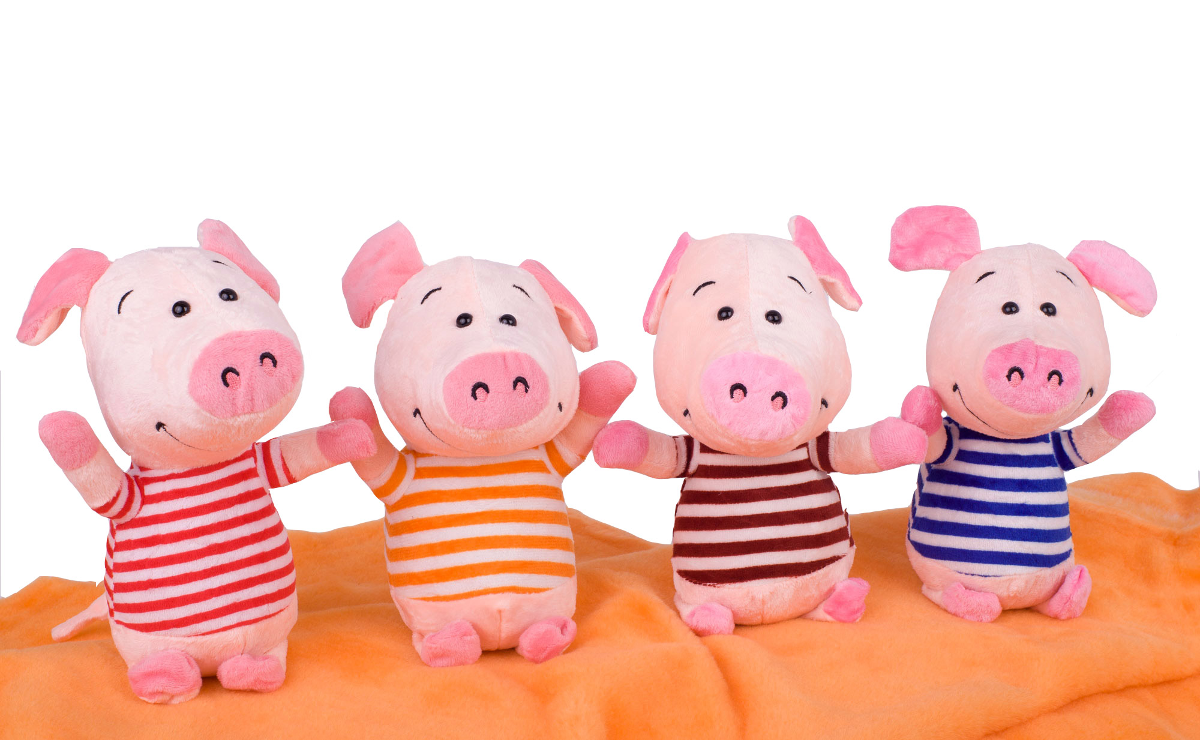 Мягкая игрушка свинка символ 2019 года