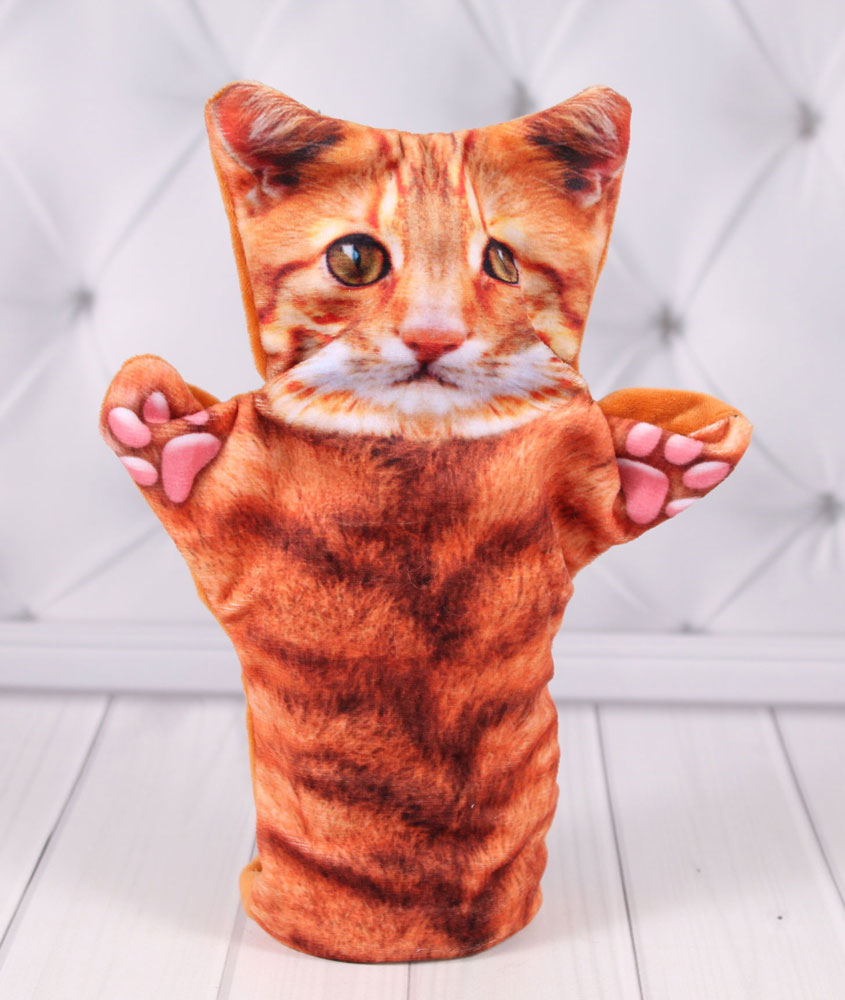 "Кукольный театр ""Би-Ба-Бо"" Кукла перчатка котик"