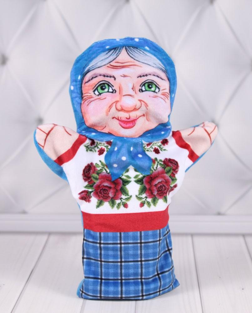 """Кукольный театр """"Би-Ба-Бо"""" Кукла перчатка Бабушка"""