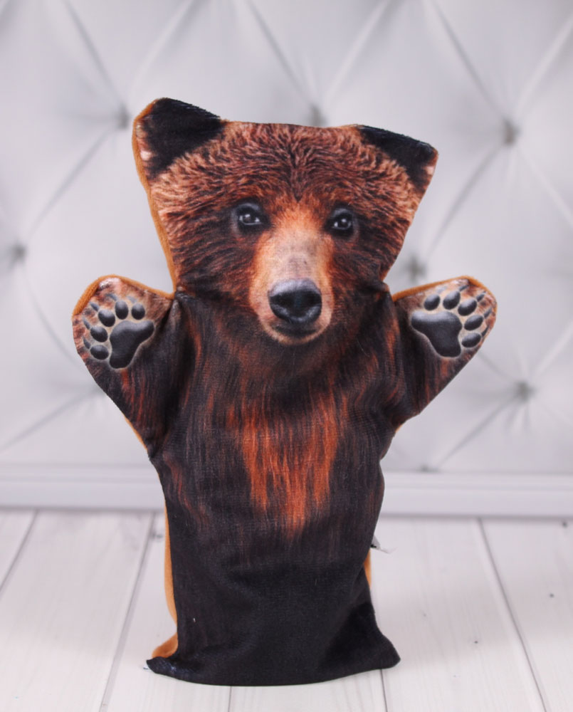 """Кукольный театр """"Би-Ба-Бо"""" Кукла перчатка медведь"""
