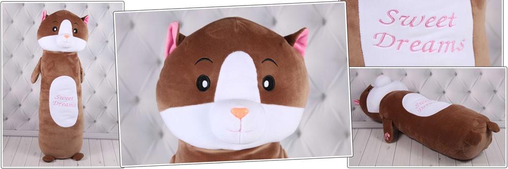 Детская подушка обнимашка Котик