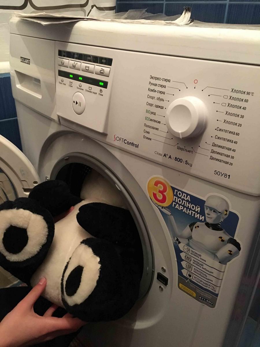 Игрушка в стиральной машинке