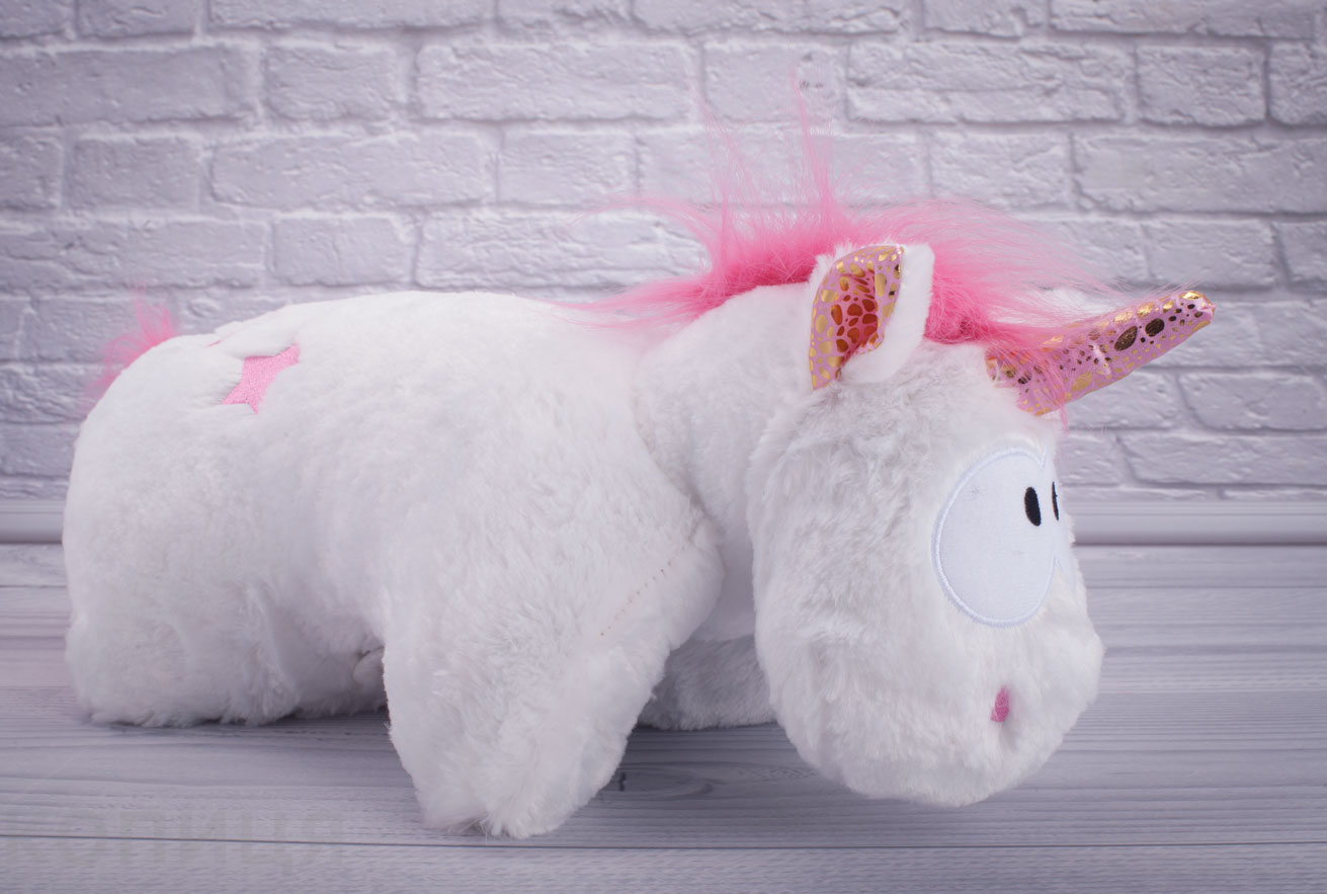 Детская подушка игрушка