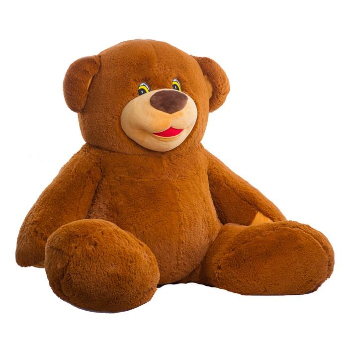 Медведь большой плюшевый