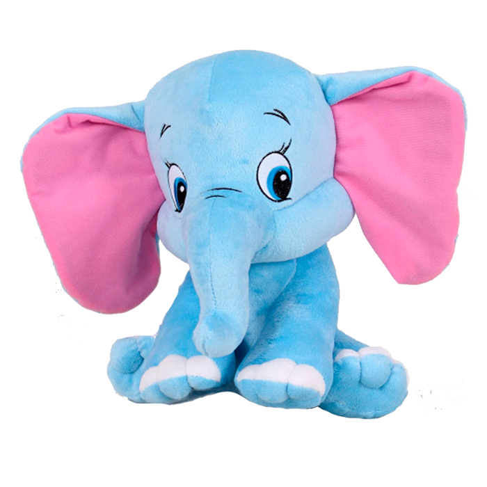 Мягкий плюшевый слоник