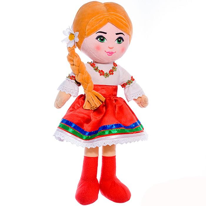 Мягкая плюшевая кукла