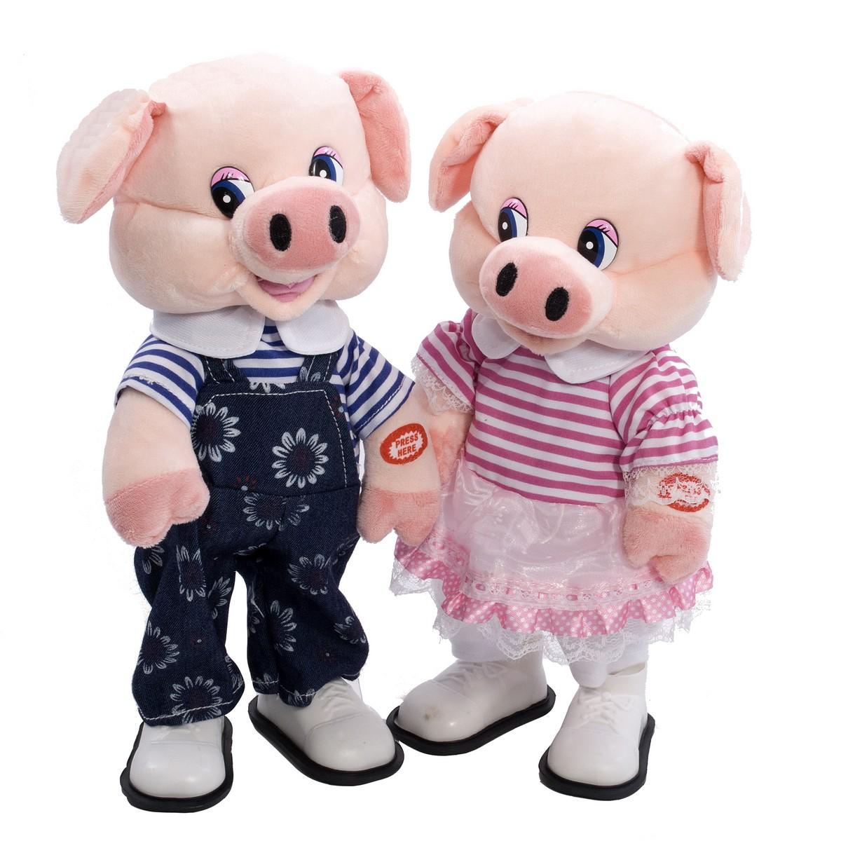 мягкая игрушка свинка